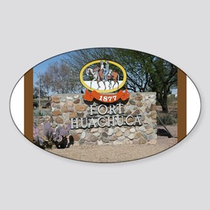 Fort Huachuca Oval Sticker