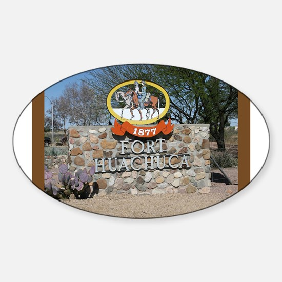 Fort Huachuca Oval Decal
