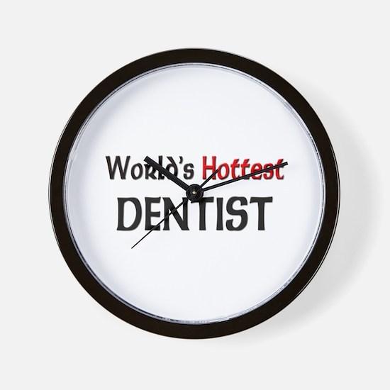 World's Hottest Dentist Wall Clock
