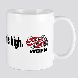 "WDFN ""The Bar is High"" Mug"
