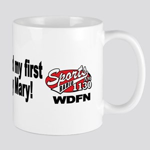 """WDFN """"First Bloody Mary"""" Mug"""