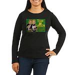 Team Larson Women's Long Sleeve Dark T-Shirt