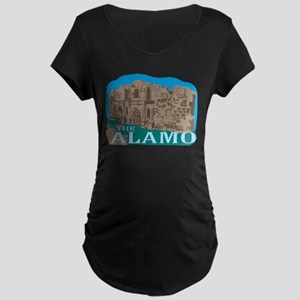 The Alamo Maternity Dark T-Shirt