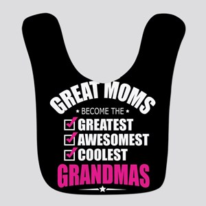 Grandma Polyester Baby Bib