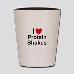 Protein Shakes Shot Glass