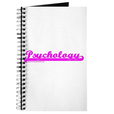 Softball Psychology Pink Journal