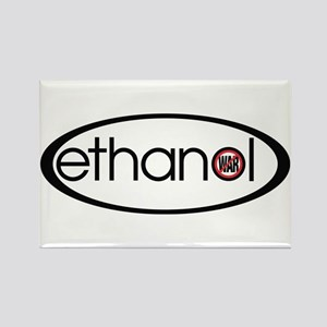 Ethanol - No War Rectangle Magnet