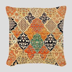 Kashan Persian Woven Throw Pillow