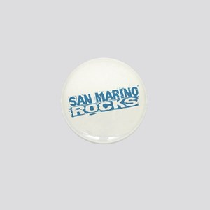 San Marino Rocks Mini Button