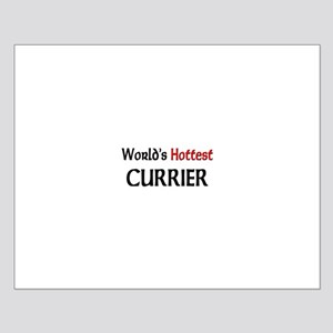 World's Hottest Currier Small Poster