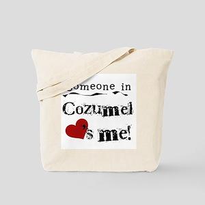 Someone in Cozumel Tote Bag