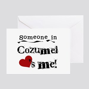 Someone in Cozumel Greeting Card