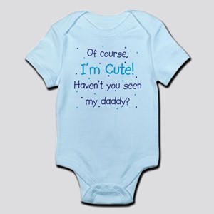 Cute Like Daddy Infant Bodysuit