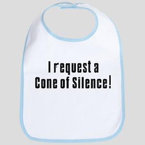 Cone of Silence Get Smart Bib