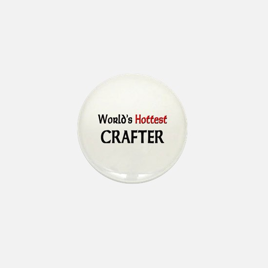 World's Hottest Crafter Mini Button