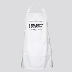 Michelle Obama Doesn't Belong BBQ Apron