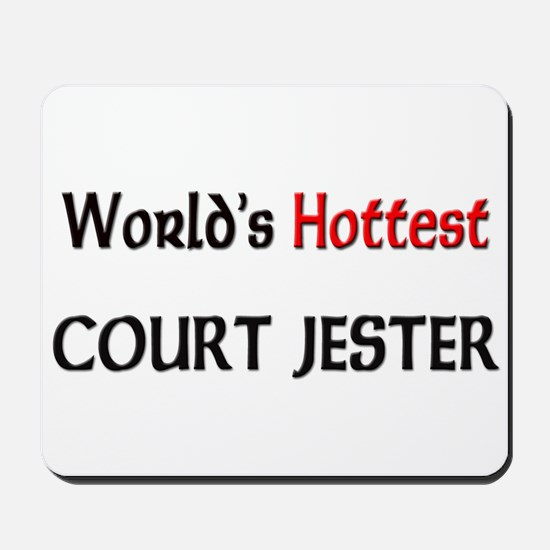 World's Hottest Court Jester Mousepad