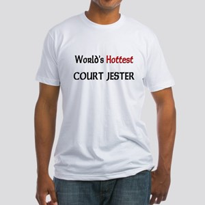 World's Hottest Court Jester Fitted T-Shirt