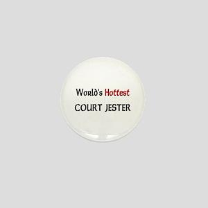 World's Hottest Court Jester Mini Button