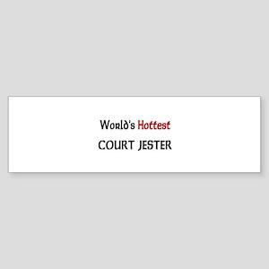 World's Hottest Court Jester Bumper Sticker
