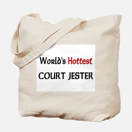 World's Hottest Court Jester Tote Bag