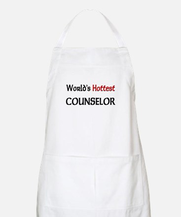 World's Hottest Counselor BBQ Apron