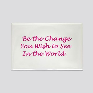 Rectangle Magnet (10 pack) Ghandi Quote