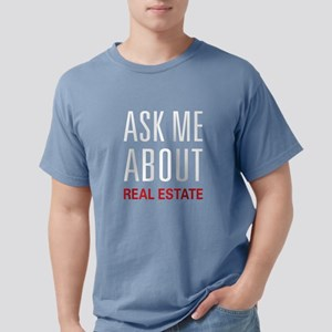 Ask Me Real Estate Women's Dark T-Shirt