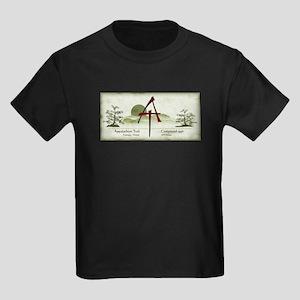 Earthy Asian Appalachian Trail Kids Dark T-Shirt