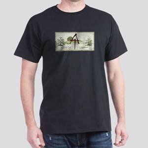 Earthy Asian Appalachian Trail Dark T-Shirt