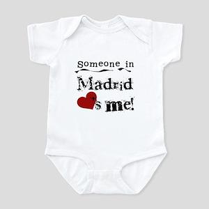 Someone in Madrid Infant Bodysuit