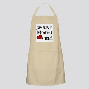 Someone in Madrid BBQ Apron