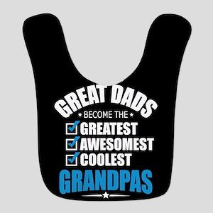 Grandpa Polyester Baby Bib