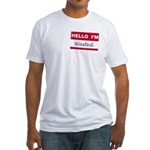 Hello, I'm Wasted Fitted T-Shirt