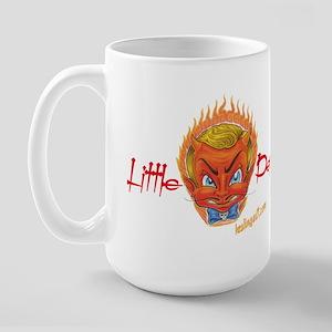 Little Devil Tattoo Large Mug
