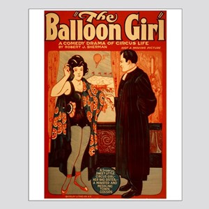 The Ballon Girl Small Poster