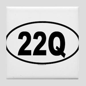 22Q Tile Coaster