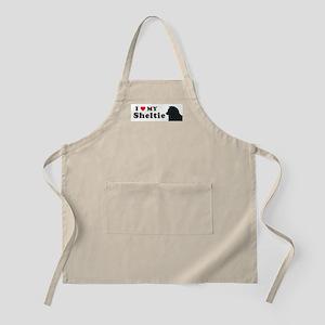SHELTIE PUP BBQ Apron
