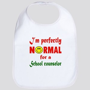 I'm perfectly normal for a School Cotton Baby Bib