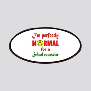 I'm perfectly normal for a School nursing Patch