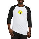 Kickstands Up Baseball Jersey, NER logo on back