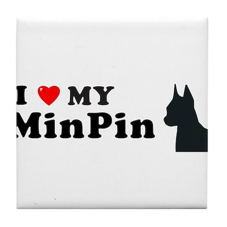 MINPIN Tile Coaster