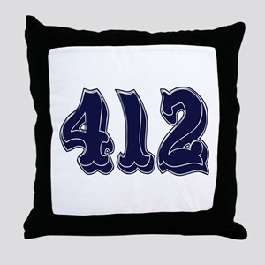 412 Throw Pillow