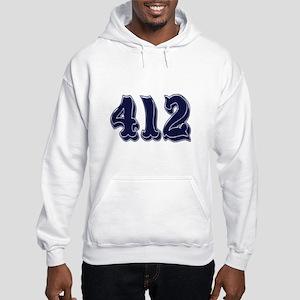 412 Hooded Sweatshirt