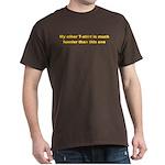 Much Funnier Men's T-shirt (Dark)