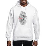 wordle design Hooded Sweatshirt