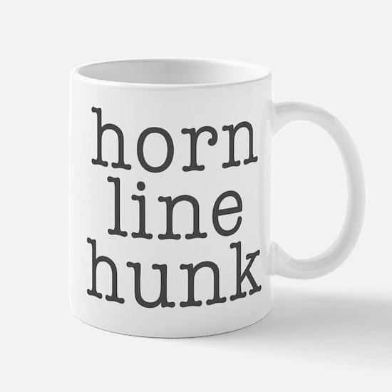 Horn Line Hunk Shirts and Gif Mug