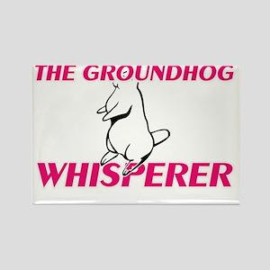 The Groundhog Whisperer Magnets
