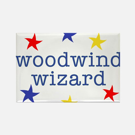 Woodwind Wizard Rectangle Magnet