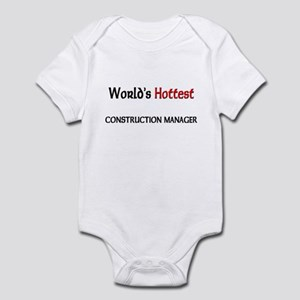World's Hottest Construction Manager Infant Bodysu